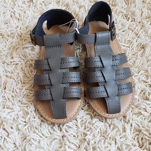 New Old Navy little boy sandals